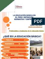 Sesión 1. La Educación Básica en El Perú