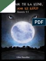 Céline Mancellon%2C Temps de Lune Saison 1 T1 Au Clair de La Lune%2C Mon Ami Le Loup