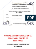 Curvas Adimensionales en El Diseño de Procesos (AREDO CHINGA)