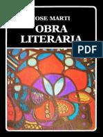 Obra literaria de José Martí