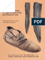Leather and Leatherworking in Anglo-Scandinavian and Medieval York