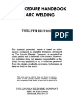 The Procedure Handbook of Arc Welding