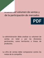 Análisis Del Volumen de Ventas y de La