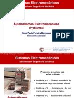 SE 1314 2ºS Automatismos Electromecânicos - Problemas