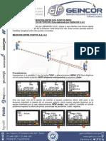 8.- Estacion Total ES-105 MDR (Distancia Entre Puntos)