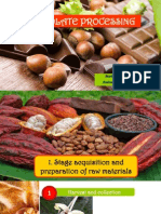 Chocolate Processing