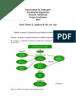 Metodos de La Hidrobiologia Sanitaria Prof.nestor Aguirre 2013