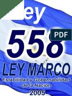 Asamblea Nacional - LEY MARCO -2005