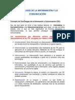 4tecnología de La Información y La Comunicación