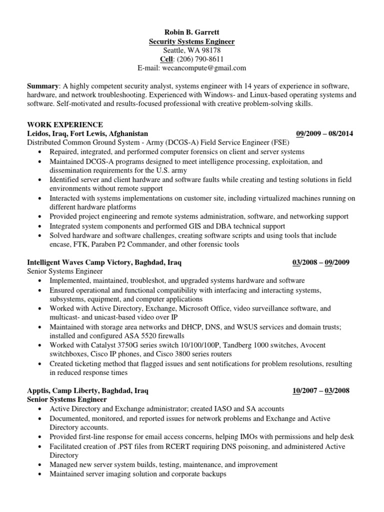 cyber information security analyst in seattle wa resume