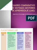 Cuadro Comparativo de Sistemas Gestores de Aprendizaje (