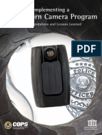 Implementing a Body-Worn Camera