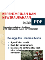 Materi Roadshow Sarasehan SMAN 8