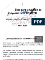 Gestion de Proyectos DNMCYTI