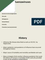 Lecture 11 Influenzavirus
