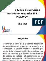 Presentación Sobre Gestión de Servicios de TI Finalv1.3