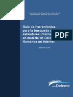 Guía Para La Búsqueda de Estándares Internacionales de Derechos Humanos en Internet