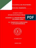 ANI -Instituto Del Transporte Estudio Estrategico Preliminar Accesos RM v003