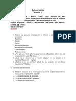 Guía de Lectura Cueto y Contreras de Bolívar a Castilla(1)