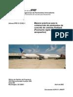Best Practices Manual-SPANISH Mejores Prácticas de Constr Pav Rigidos Aeropuertos