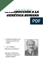 Introducción a La Genetica Humana