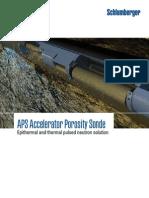 Accelerated Porosity Sonde (APS)