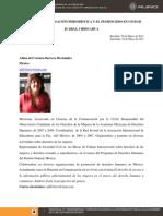 El DAIP, la investigación periodística y el feminicidio en ciudad Juárez