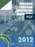 Panduan PKM 2012 Revisi11