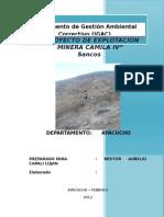 Proyecto de Explotacion Minera Camila IV Corregido