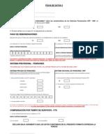 Pack Ingreso - Ficha de Datos 2