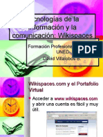 Las wikis como portafolio de evaluación