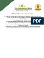 2014 Urban Homestead Tour Guide