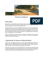 Beach in Yogyakarta