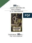 Pequena Historia de Inglaterra - Chesterton, G.K