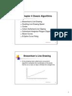Classic Algorithms - Computer Graphics