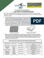 2014 VA Oyster Gardening Packet