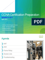 CCNA Certification Training - Session 4-2012_04
