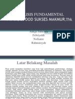 Analisis Fundamental Pmmk