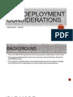 U900 Deployment Considerations_v