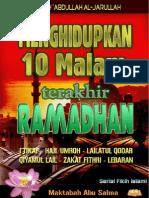 10 Hari Akhir Ramadhan - Ibnu Jarullah