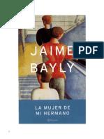 6622138 Bayly Jaime La Mujer de Mi Hermano