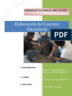 Concreto Con Relacion Agua-cemento