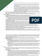 Civil Procedure Rule Summaries