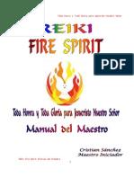 Reiki Fire Spirit Manual Del Maestro
