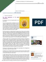 Explanation and Significance of Sri Lalitha Sahasranama