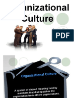 Organizational Culture as a part of OB