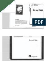 Armin Mohler - Sex und Politik