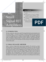 Bjt Small Signal Amplifier