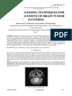 Brain tumor research