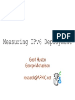 Measuring Ipv6 Deployment